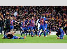 Barcelona magical Champions League comeback vs PSG will