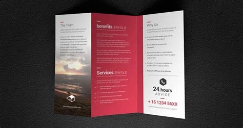 Maybe you would like to learn more about one of these? Tri Fold Business Card Template Unique Doma Tri Fold Brochure Template Brochure Templates in ...