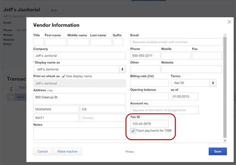 1099 form excel preparing quickbooks 1099 misc forms accountex report