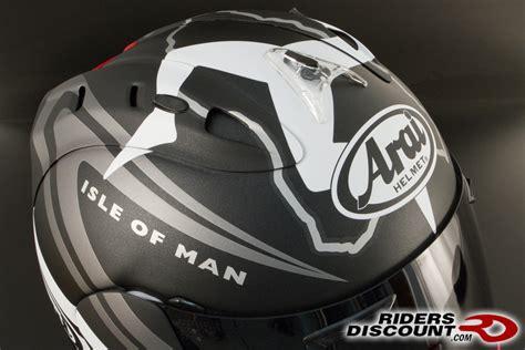Arai Corsair V Isle Of Man Tt 2014 Le Helmet