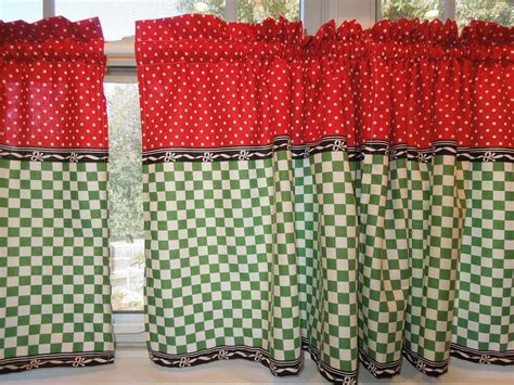 Retro Kitchen Curtains, 1950s Diner Style, Four Panels, Red, Green, Black And White, Cafe Look Man Behind Curtain Diy Air Unc Shower And Duvet Matching Sets Rails Balloon Curtains For Kitchen Tortilla Part 2 Hospital Tracks