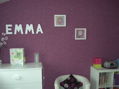 deco de chambre fille chambre prune photo 1 1 3505833