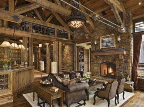 Rustic Country Living Room Decorating Ideas Modern Country
