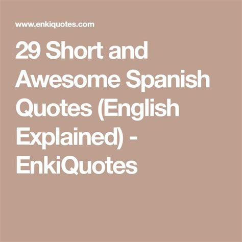 spanish quotes ideas  pinterest frases