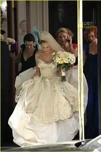 sex and the city wedding dress hot girls wallpaper With sarah jessica parker wedding dress