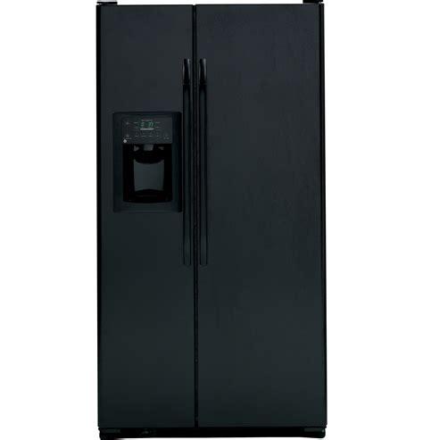 dispense java ge 174 25 4 cu ft side by side refrigerator with dispenser
