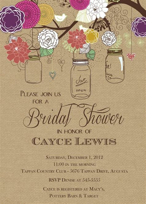 1000 ideas about burlap bridal showers on