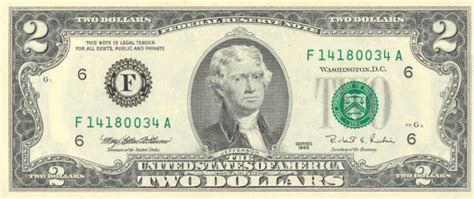 United States Currency/ Bill
