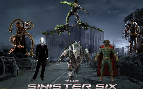 What If  The Sinister Six By Asthonx1 On Deviantart