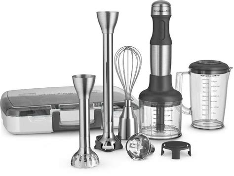 Kitchenaid Immersion Blender Review by New All Metal Kitchenaid 5 Speed Immersion Blender