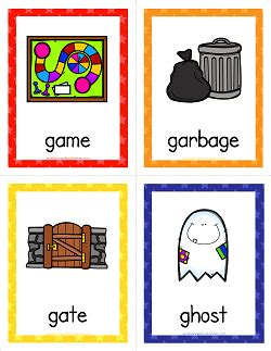 Unique concept is the primary one of the nice ccgs out there. Things that Start with G Cards - Alphabet Printables | Flashcards for kids, Letter flashcards ...