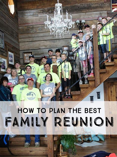 how to plan a family reunion how to plan a family reunion the crafting chicks