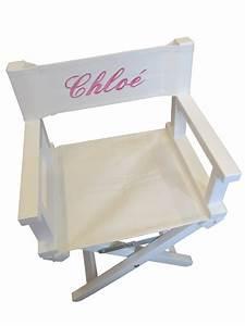 Fauteuil Enfant Personnalisable : table rabattable cuisine paris fauteuil metteur en scene personnalise ~ Melissatoandfro.com Idées de Décoration
