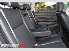 2012 Peugeot 4008 Allure rear centre armrest
