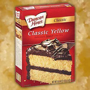 classic yellow cake mix   allergy