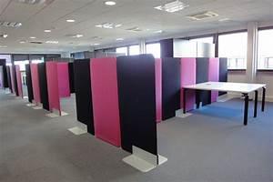 Cloison Acoustique Bureau : cloison acoustique buzzi screen bm mobilier ~ Premium-room.com Idées de Décoration