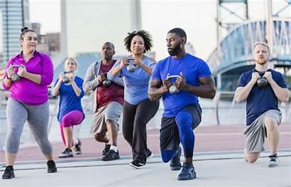 Exercising Exercise Fitness Start Aerobics Health Matter