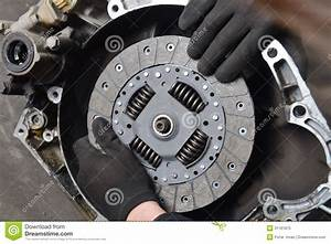 Vehicle Clutch  Car Mechanic Is Changing Clutch Stock