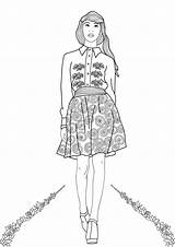 Coloring Pages Adults Adult Printable Popshopamerica Books Colorings Week sketch template