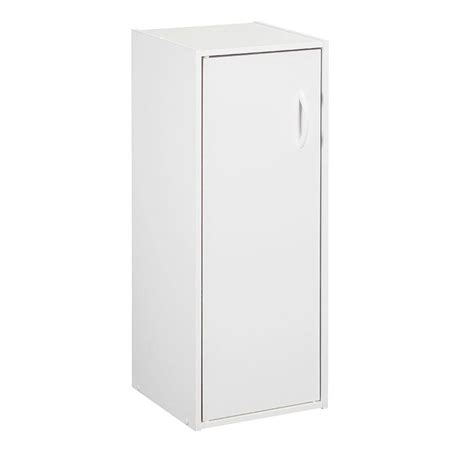 closetmaid stackable 3 cube organizer white closetmaid 12 in x 31 5 in white stackable 1 cube door