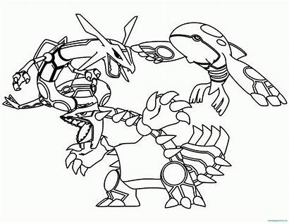 Legendary Pokemon Coloring Pages Printable Drawing Hand