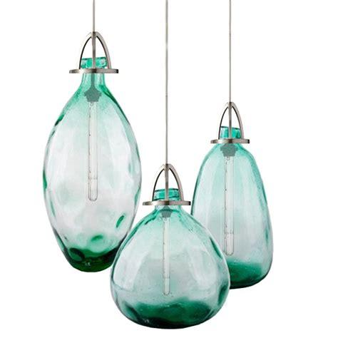 chandelier style table l modern country blown glass bottle pendant lighting 11878