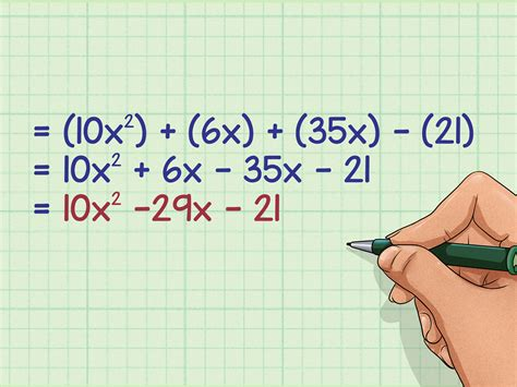 How To Multiply Binomials Using The Foil Method
