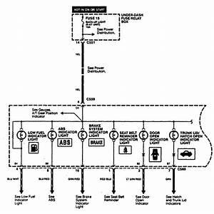 Acura Integra  1997  - Wiring Diagrams - Indicator Lamp
