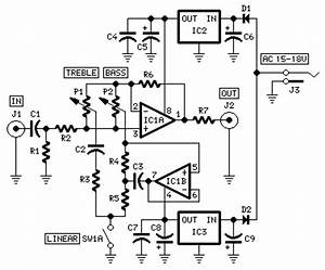 modular preamplifier tone control red page152 With amplifier with tone controls and soft switching
