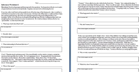 inferencing activities 5th grade inferences worksheets 3rd grade abitlikethis