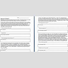 Making Inferences Worksheets  The Teachers' Cafe  Common Core Resources
