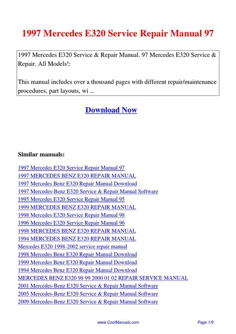 service repair manual free download 2002 mercedes benz s class head up display 1997 mercedes e320 service repair manual 97 pdf by linda pong issuu