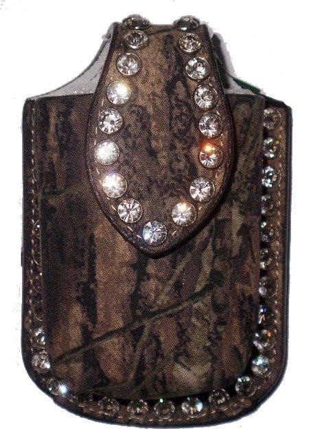 mossy oak camouflage western cell phone holder