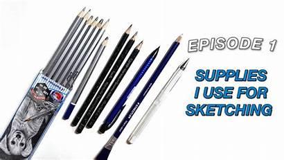 Sketching Beginners Supplies