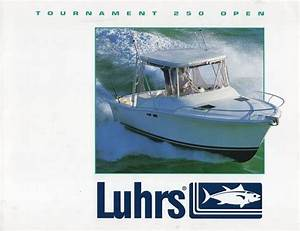 Luhrs Tournament 250 Open Brochure  U2013 Sailinfo I