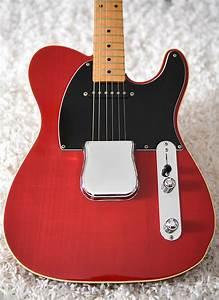 1990s  Fender Jerry Donahue Signature Telecaster Crimson Transparent Cherry  U2013 Guitarboretum