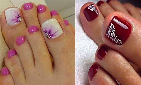 65 diseños de uñas decoradas paso a paso muy bonitos y. Decoración de uñas de pies de moda, ¿ya la conoces? | Vibra