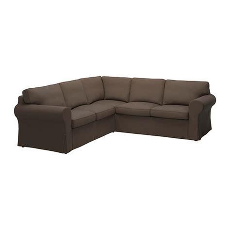 ikea sectional slipcover ikea ektorp 2 2 corner sofa cover slipcover jonsboda brown