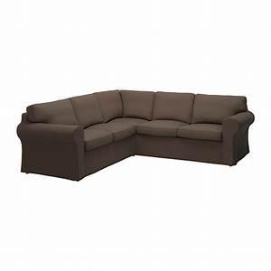 ikea ektorp 22 corner sofa cover slipcover jonsboda brown With 4 seat sectional sofa
