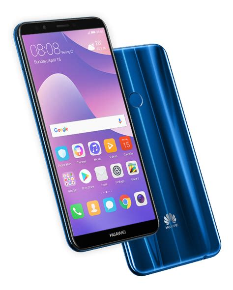 one touch ultra blue huawei y7 prime 2018 android phone huawei pakistan