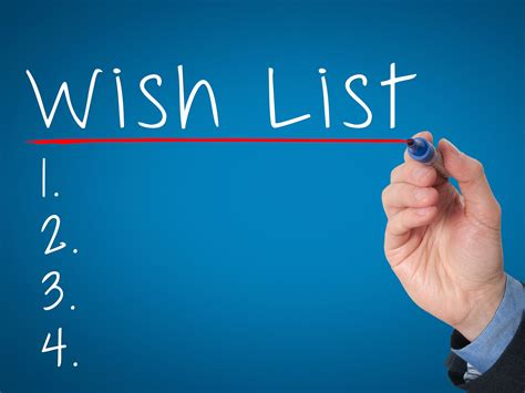 Keeping Your Home Buying Wish List On Track