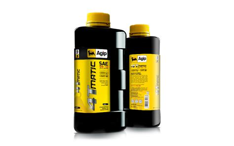 Agip Motorcycle Oil 4t Mactic On Packaging Of The World