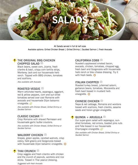 california pizza kitchen menu oc restaurant guides