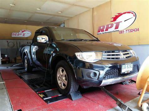 Mitsubishi Ecu by Mitsubishi Triton 2006 Ecu Remapping Results