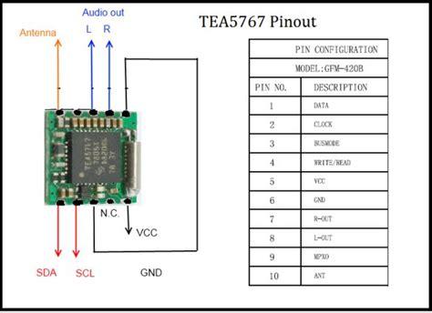 fm radio  tea  picfa micro controller
