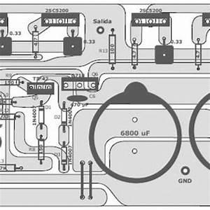400 Watt 70 Volt Amplifier Top Pcb Layout In 2019