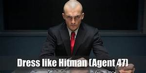 Agent 47  Hitman  Costume For Halloween 2019