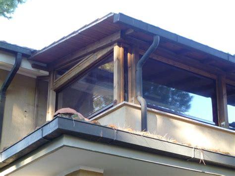 tendoni per terrazzi free chiusura terrazza con tende in pvc vista with tendoni