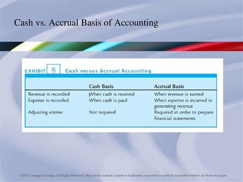 accrual accounting concepts chapter  prezentatsiya onlayn