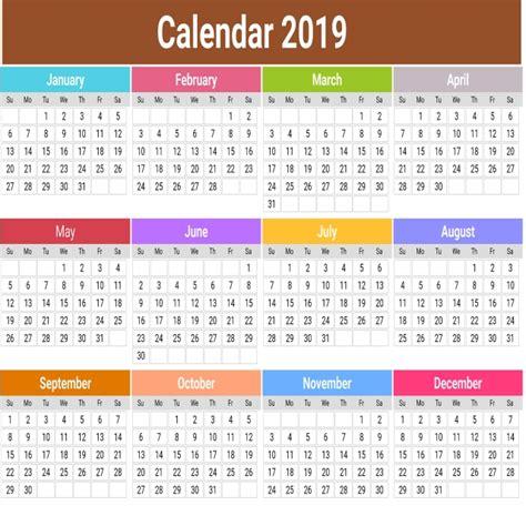 cute calendar flores diseno calendario calendario vector
